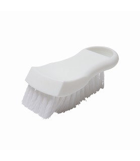 White Cutting Board Brush