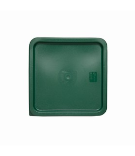 Green Square Food Container Lid 187 x 187mm