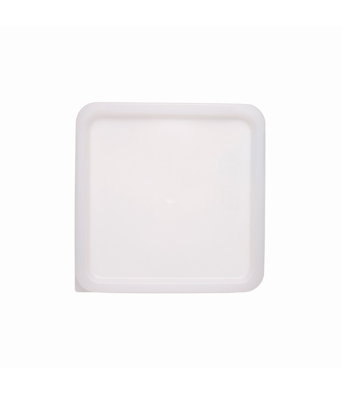 White Square Food Container Lid 187 x 187mm