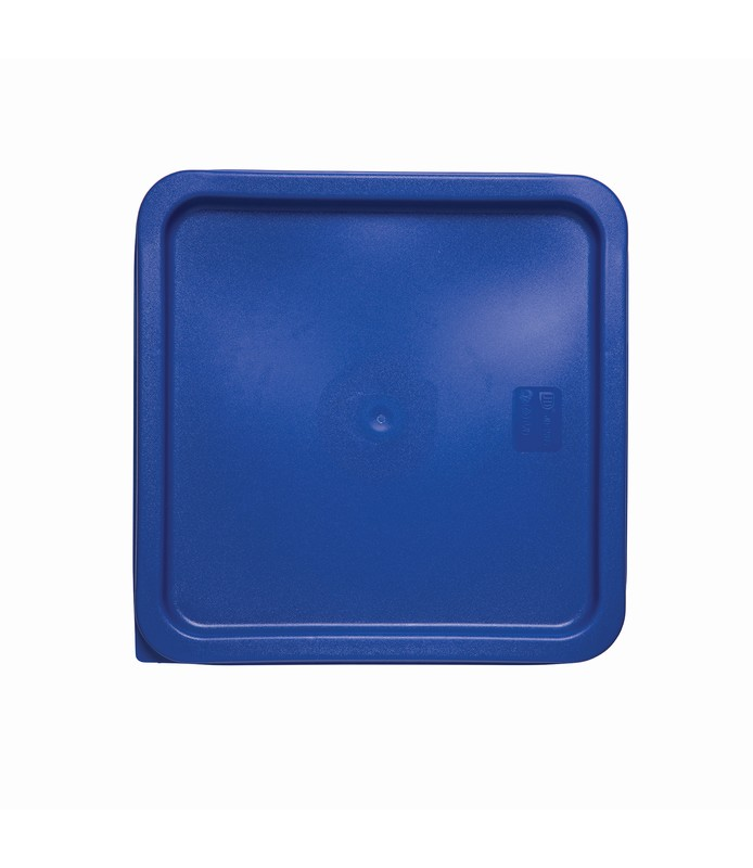 Blue Square Food Container Lid 230 x 230mm