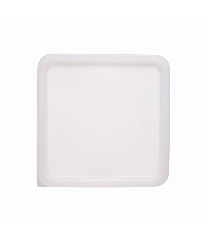 White Square Food Container Lid 230 x 230mm