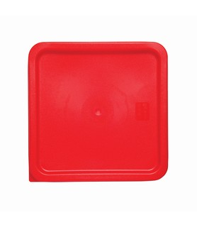 Red Square Food Container Lid 290 x 290mm
