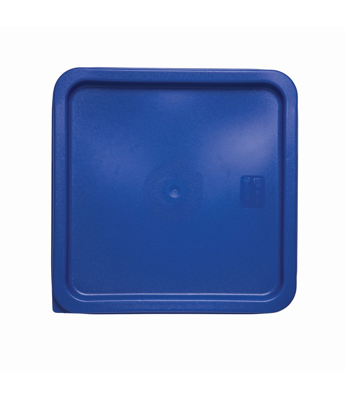 Blue Square Food Container Lid 290 x 290mm