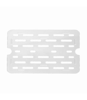 Polycarbonate Food Pan Clear Drain Plate 1/3