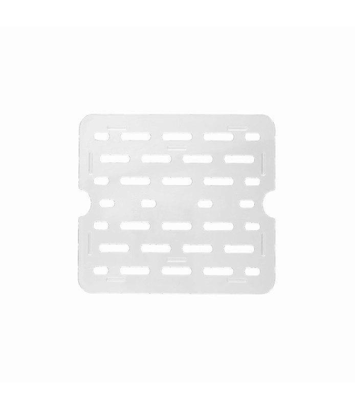 Polycarbonate Food Pan Clear Drain Plate 1/6