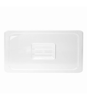 Polycarbonate Food Pan Lid 1/3