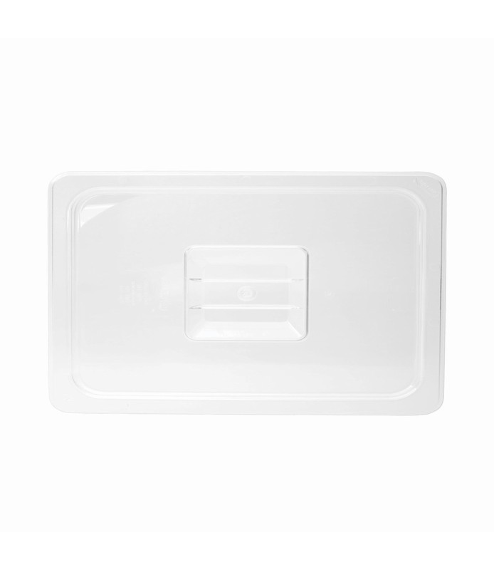 Polycarbonate Food Pan Lid 1/4
