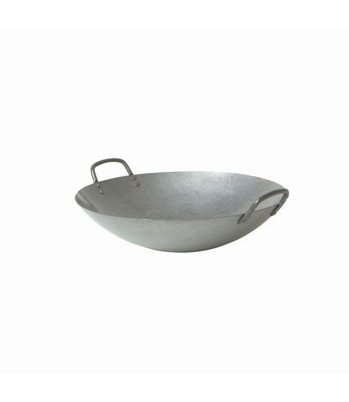 Cast Iron Wok with Handles 360mm