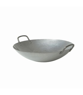 Cast Iron Wok with Handles 400mm
