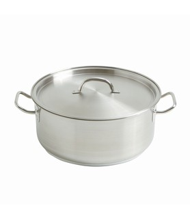 Stainless Steel Casserole Pot 12L