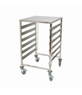 Stainless Steel 6 Tier Baking Trolley