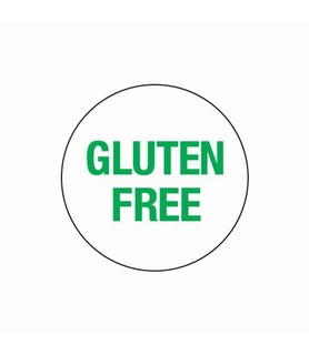 Day Spots Circle 24mm Removable Gluten Free 1000 Per Roll