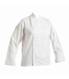 HEADCHEF Chef Jacket Classic Long Sleeve White Large
