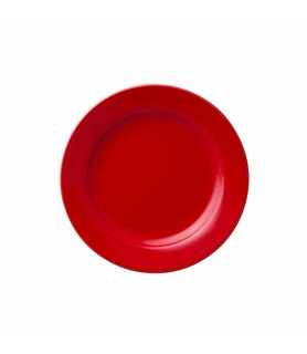 Hunter Reid Porcelain Plate Round Red 165mm