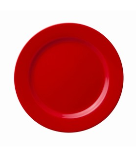 Hunter Reid Porcelain Plate Round Red 235mm