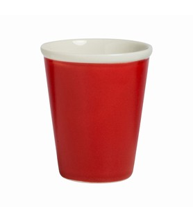 Lulu Tapered Latte Cup Chilli 200ml