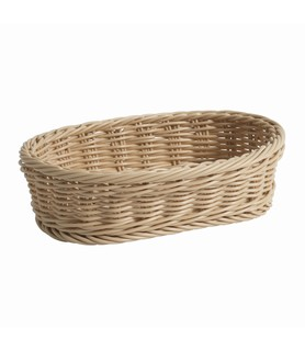Natural Oval Deluxe Bread Basket