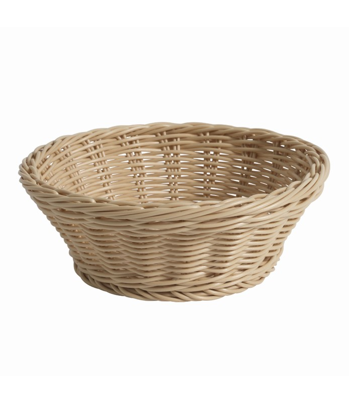 Natural Round Deluxe Bread Basket