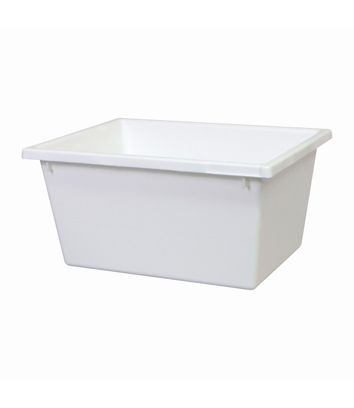 Stacking & Nesting Crate White 22L
