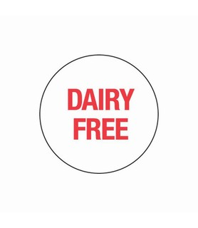 Day Dot Circle Dairy Free 24mm Removable 1000 Per Roll
