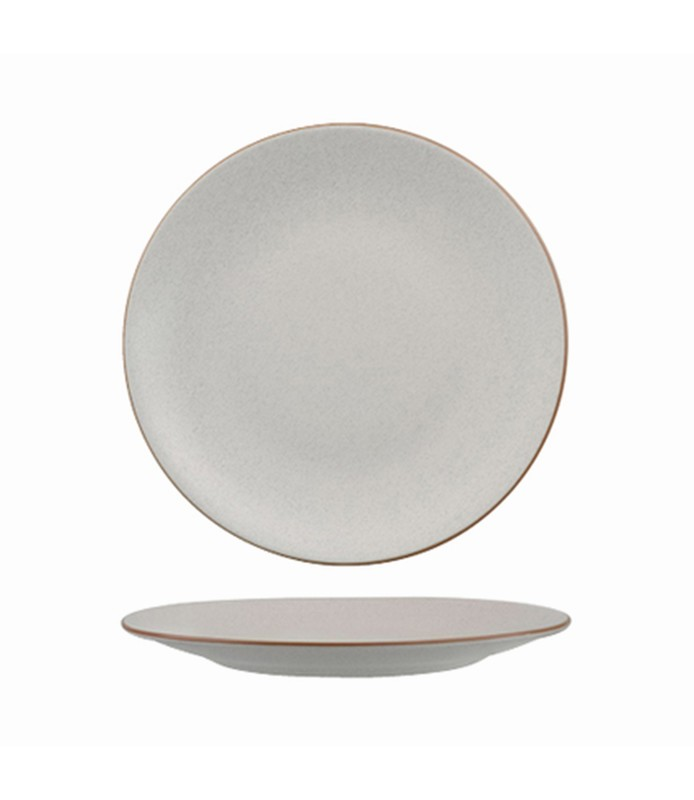 Zuma Coupe Plate Round Mineral 230mm
