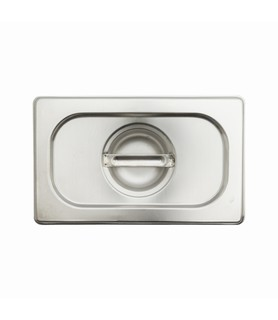 Stainless Steel Steam Pan Cover 1/3