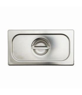 Stainless Steel Steam Pan Cover 1/4