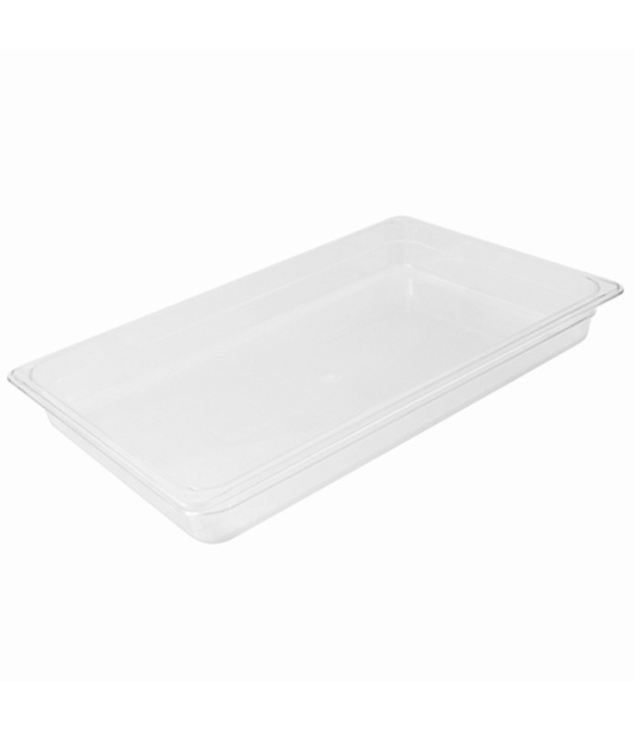 Polycarbonate Food Pan Clear 1/1 x 150mm Deep