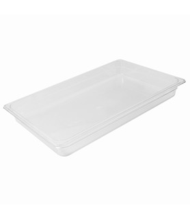 Polycarbonate Food Pan Clear 1/1 x 200mm Deep