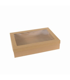 BetaCater Catering Box Lid With Window Small Suits 50074