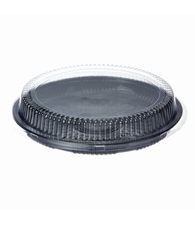 Anchor Packaging Round Platter Lid Clear Large Suits 50084 & 50085